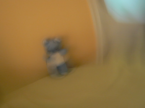 teddy bear blue | by krokodil.nana