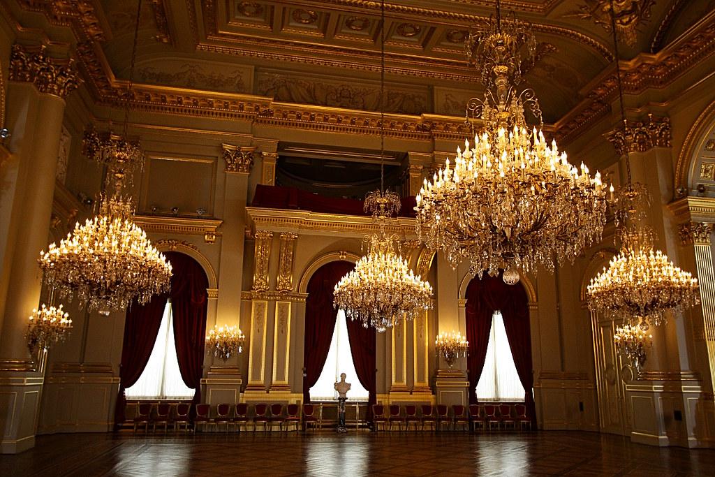 Palais royal de bruxelles salle du tr ne 2 olivier monbaillu flickr - Salon de the palais royal ...