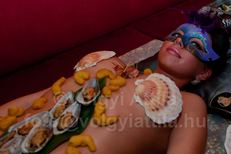 All Sizes  Naked Sushi Served On Girls Body  Flickr -1012