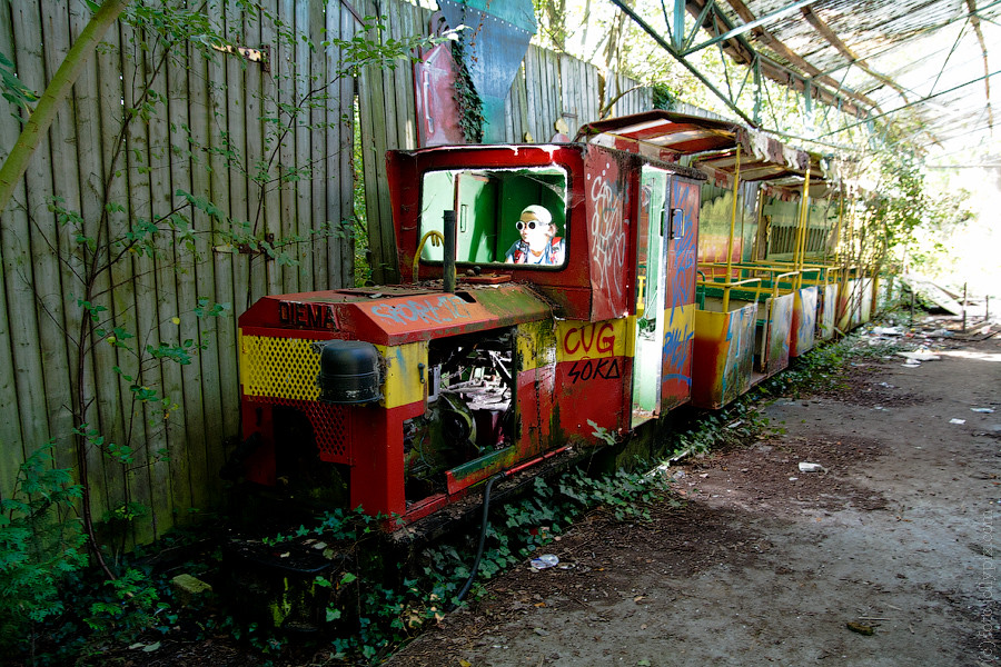Dadipark Small Pleasure Train Will Never Carry