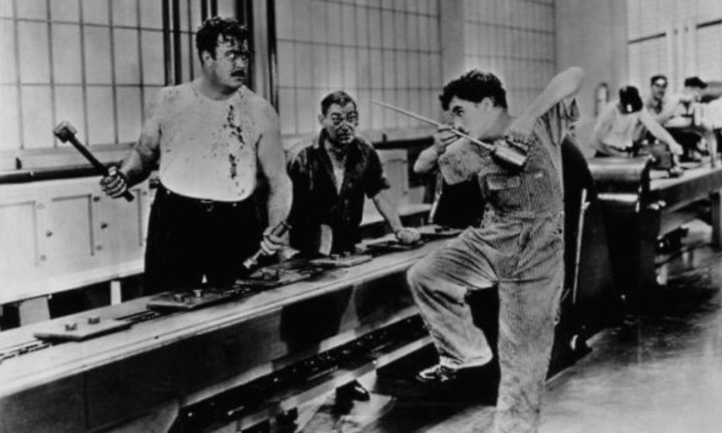 an analysis of the movie modern times After over a century of movie making, these horrible stereotypes continue to plague us today,  by setting the film during prohibition instead of modern times,.