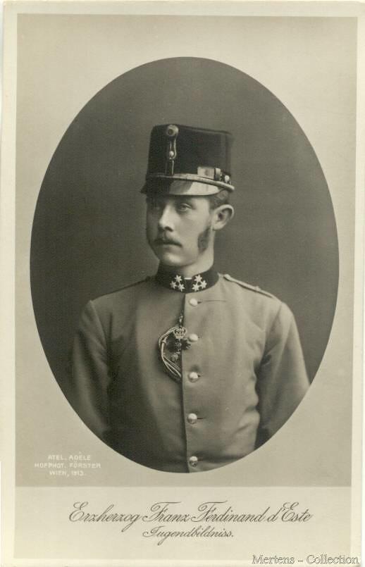 Thronfolger Erzherzog Franz Ferdinand von Habsburg-Este 18 ...