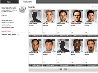 FIFA 12 Creation Centre: Use Licensed Players | by EA SPORTS FIFA
