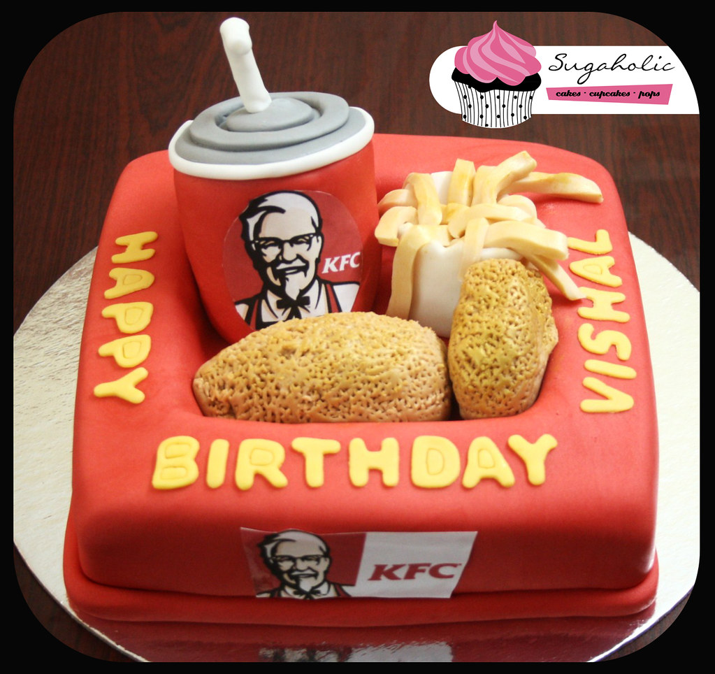 Kfc Chicken Birthday Cake