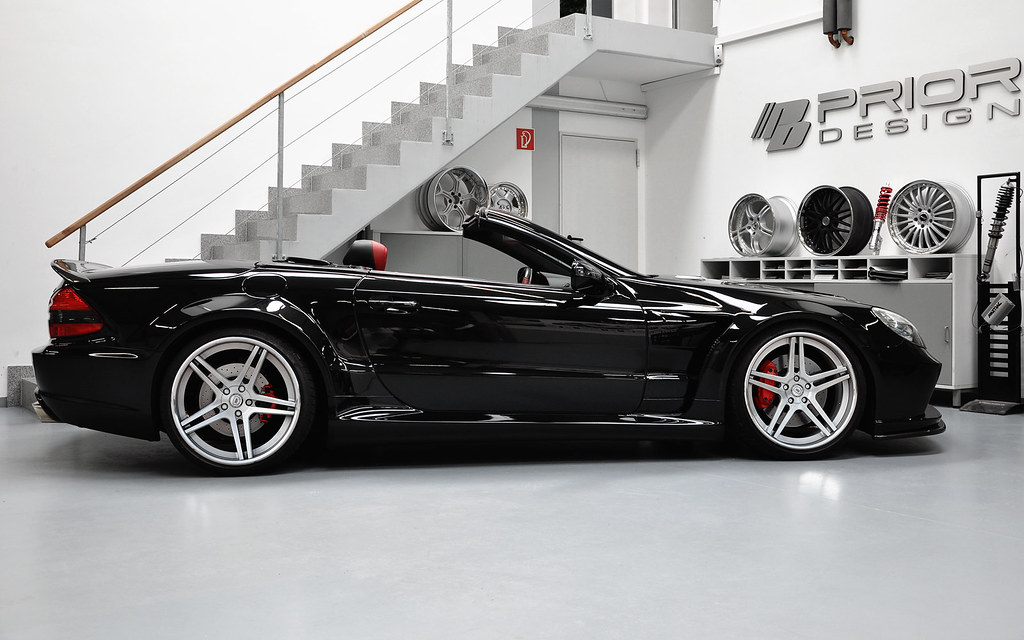 Mercedes Benz Sl Black Series Conversion Facelift Convers