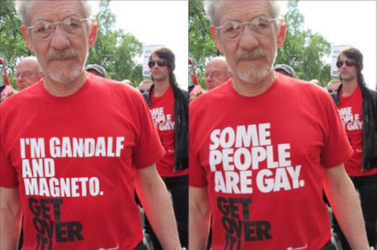 Gandalf y Magneto - Original vs Photoshop | Kjeldor | Flickr