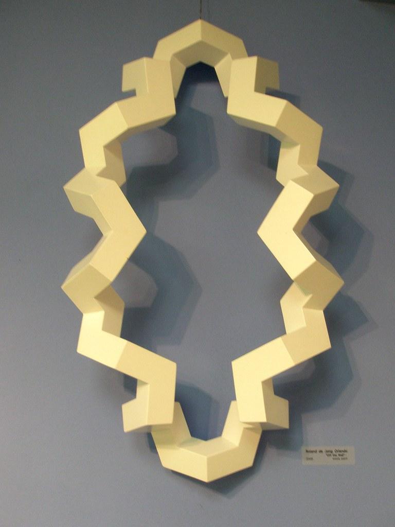 Roland de Jong Orlando \'Off the Wall\', 2009, MADI Art Muse… | Flickr