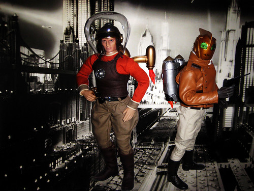 Rocketeer Jetpack Comic Buck Rogers and The Ro...