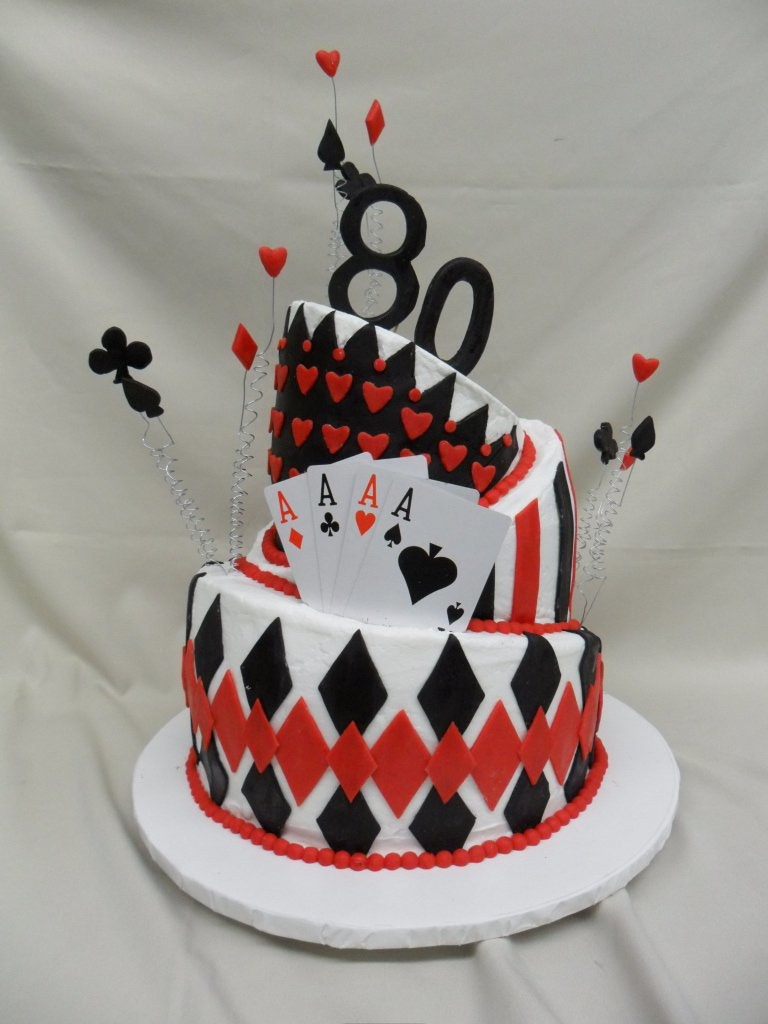 Queen Of Hearts Birthday Cake My First Topsy Turvy Cake N Flickr