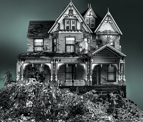 Lego: Victorian on Mud Heap | by !snap!