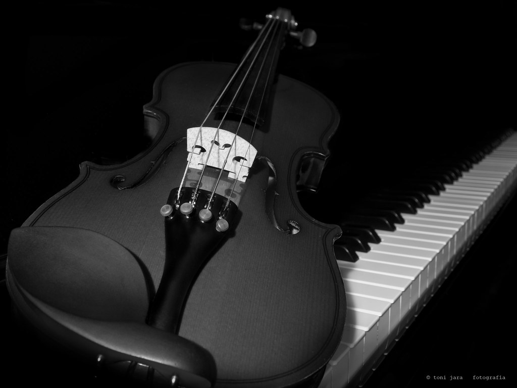 Violin And Piano Art Tone Wallpaper HD #6467 Wallpaper | Wallpaper ...