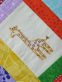 Giraffe Close-Up | by KCQuilts
