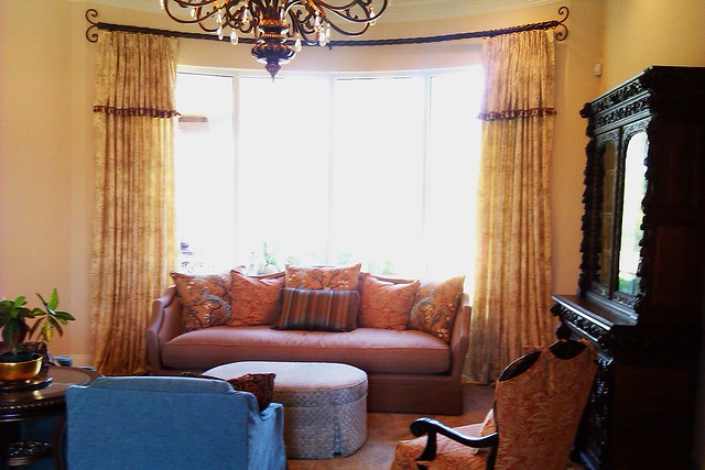 Living Room with Tuscan influence   Flickr - Photo Sharing!