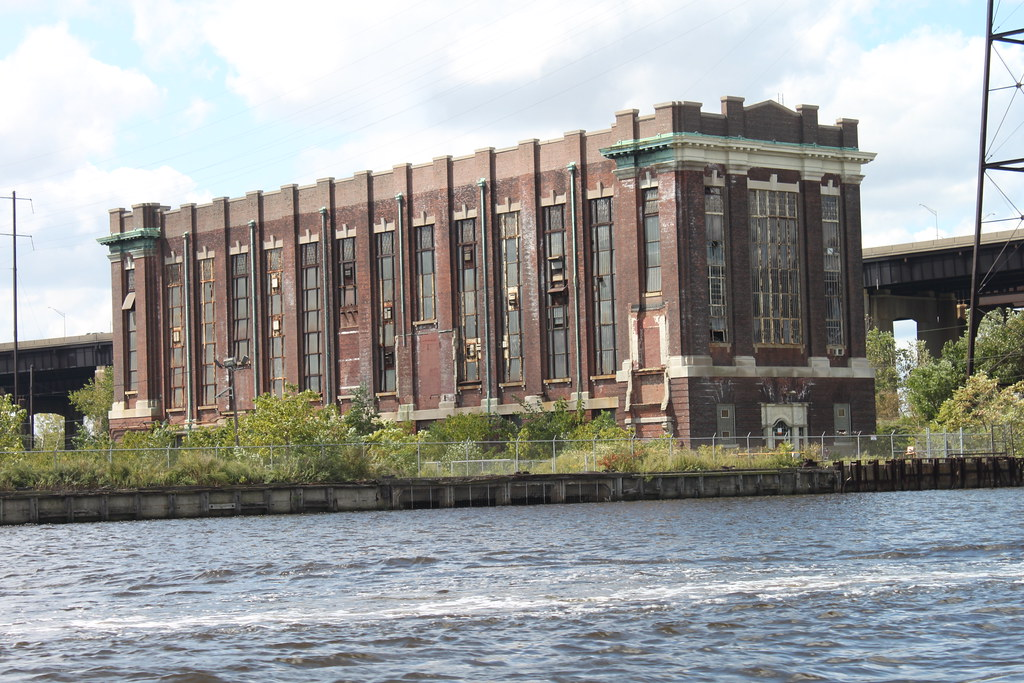 Abandoned Power Plant I Recently Went On A Pontoon Boat