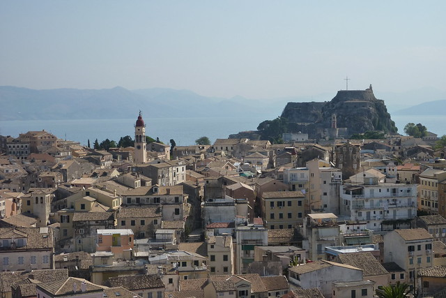 Wander through Corfu Old Town on holiday