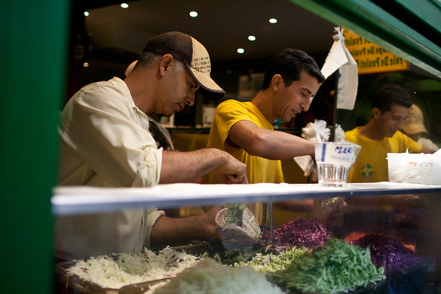L'As du Fallafel, o melhor falafel de Paris nos Marais