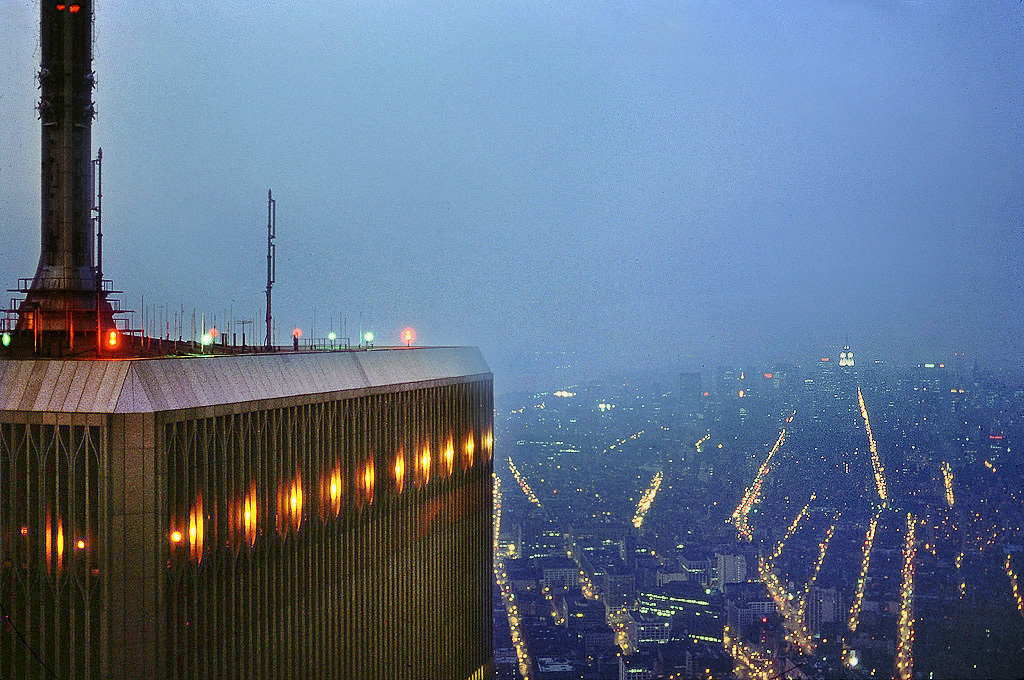 World trade center observation deck 1980 city of light for Interieur world trade center