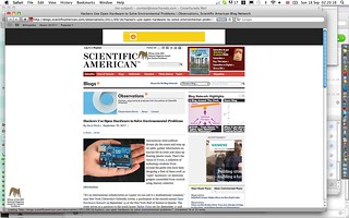 Protei on the Scientific American :) | by cesarharada.com