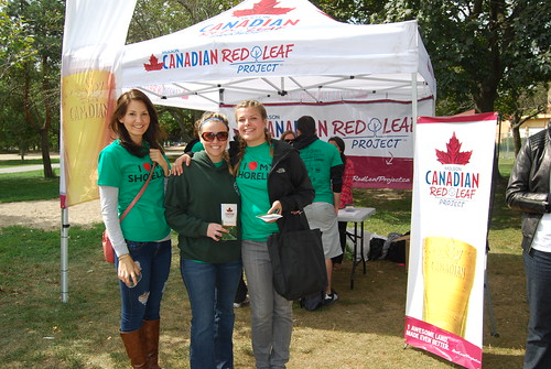 Molson Canadian Red Leaf Project/Great Canadian Shoreline Cleanup - Woodbine Beach Park, Toronto | by Molson Coors Canada