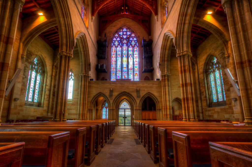 Bryn Athyn Cathedral Interior I Just Got Home From A