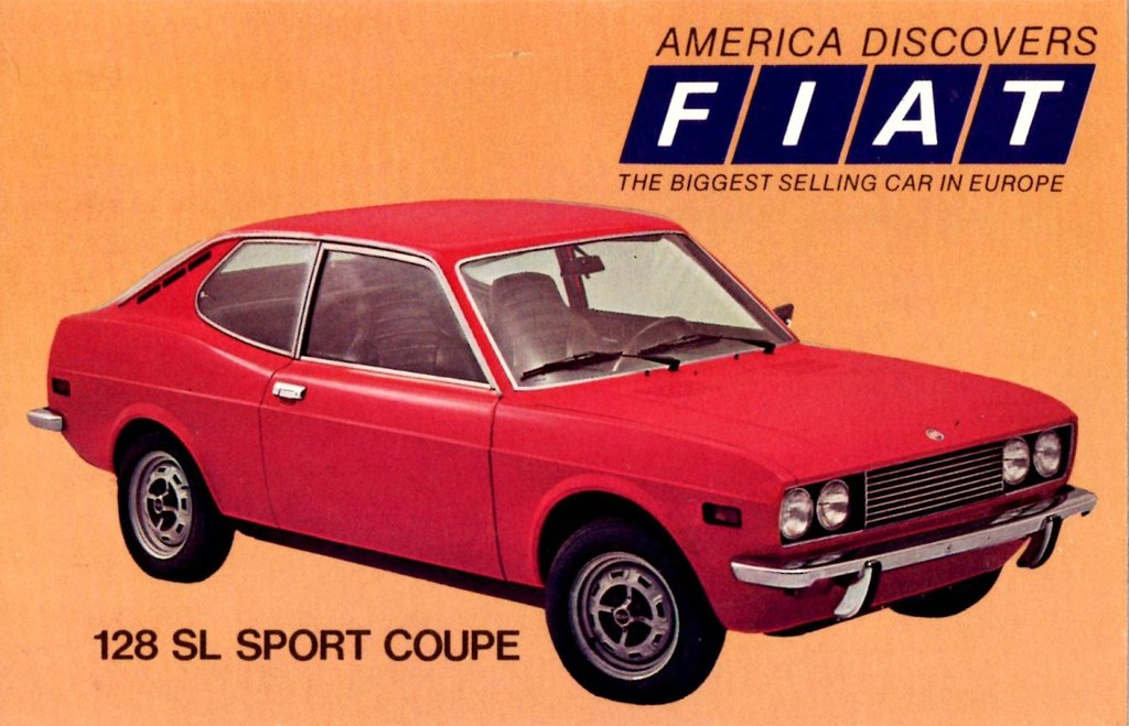 fiat 128 sl sport coupe alden jewell flickr. Black Bedroom Furniture Sets. Home Design Ideas