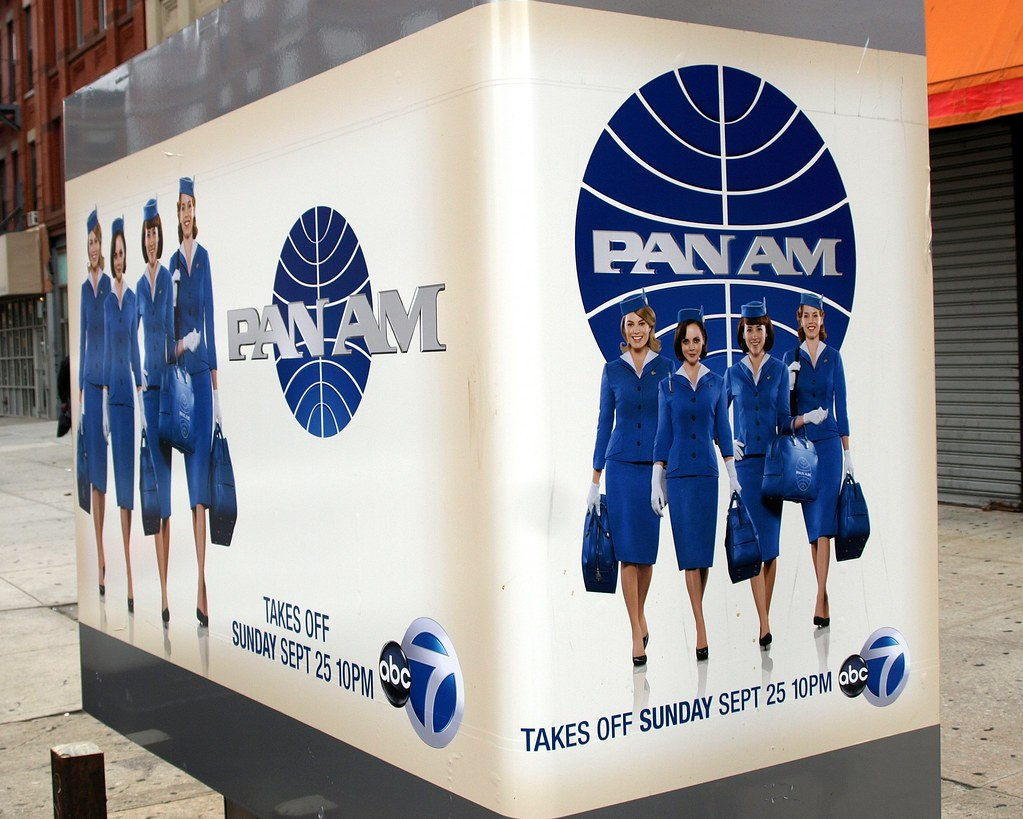 PAN AM TV Show On ABC Channel 7 New York City