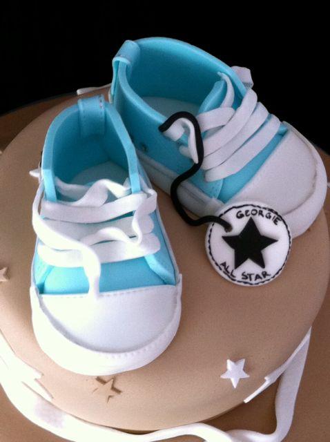 fondant baby converse shoes liis