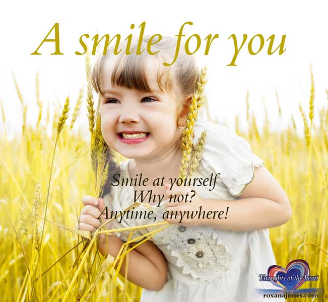 Nice Quotes On Beautiful Smile: Inspirational Quote: A Smile For You