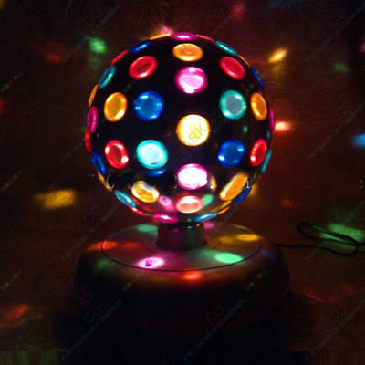 dj rotating color disco ball light lighting effect yft119a flickr