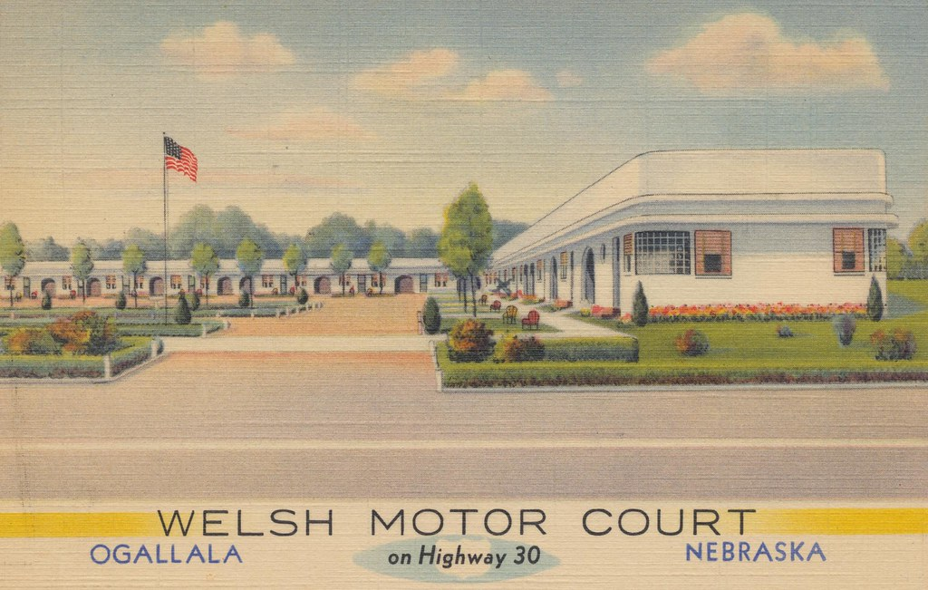 Welsh Motor Court - Ogallala, Nebraska