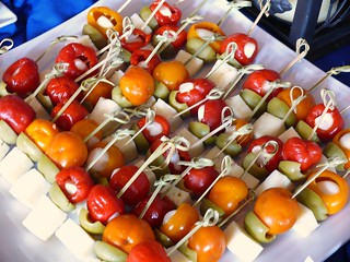 Pepper and Cheese Skewers from Sidecar Global Catering | by swampkitty