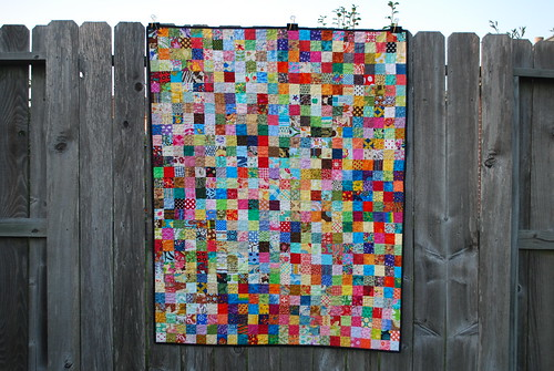 do. Good Stitches Postage Stamp Quilt | by {Karamat}