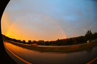 Rainbow in Grand Rapids! | by johnbalyo