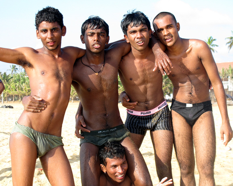 naked guys sri lankan