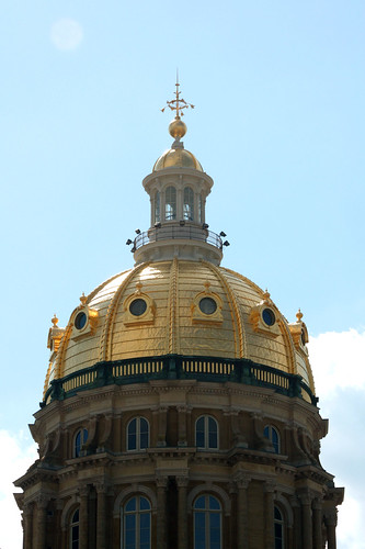 Iowa State Capitol Dome | by Carol (vanhookc)