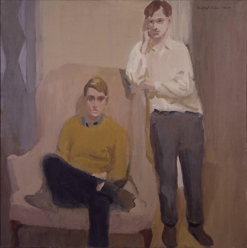 Fairfield Porter Portrait