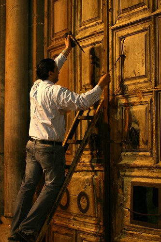 Locking the Door to the Church of the Holy Sepulchre | by On Being
