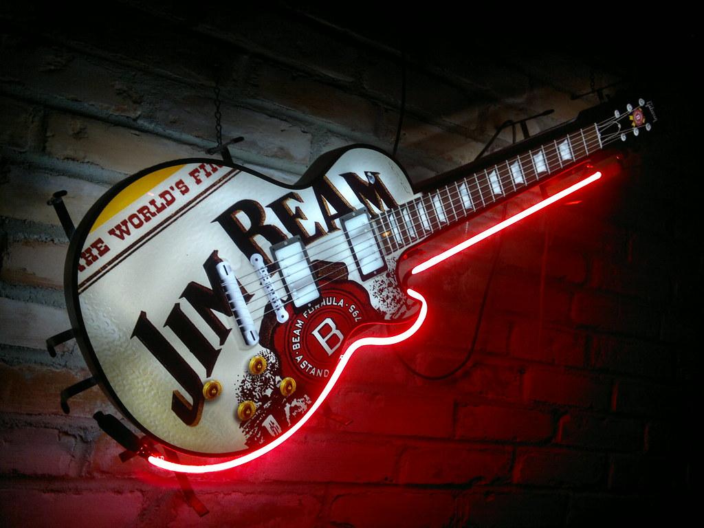 Jim Beam Guitar Lars Igelstr 246 M Flickr