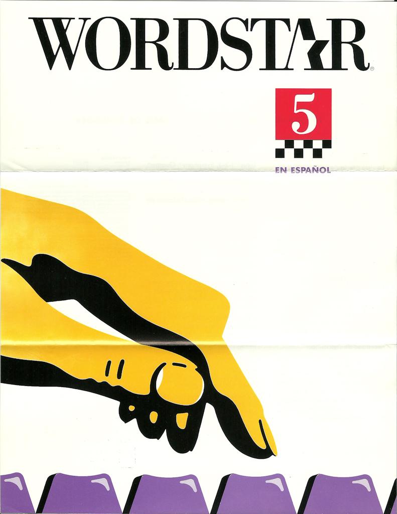 Logo Start With C >> WordStar 5 | Folletos de WordStar 5 y 6 (circa 1987/1988) di… | Flickr