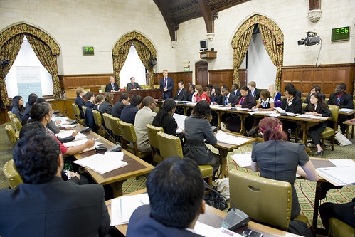 8 September 2011: The Commonwealth Youth Parliament debates the Throne Speech | by UK Parliament