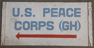 Peace Corps sign from Ghana | by national museum of american history