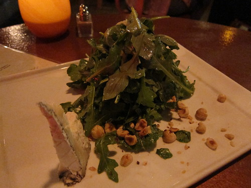 Baby Arugala Salad, Granny Smith Apple, Hazelnut, Humboldt Fog Cheese | by frivolous_accumulation