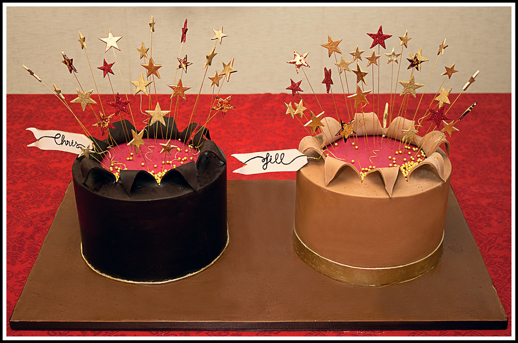 His N Hers Birthday Cakes Ok This Is His N Her S