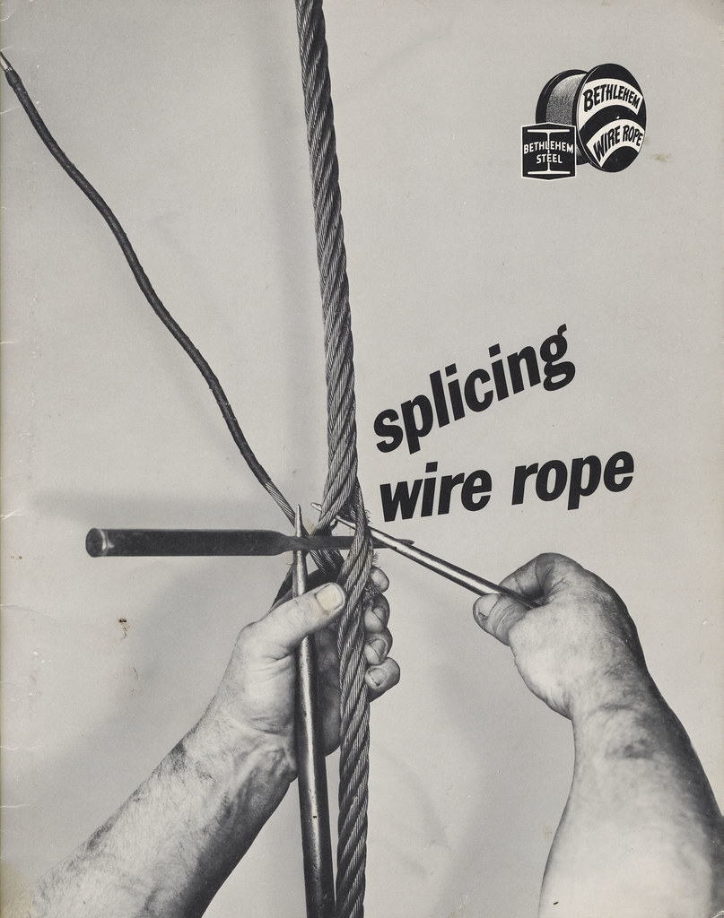 Splicing Wire Rope Book | Puget Sound Navy Museum | Flickr