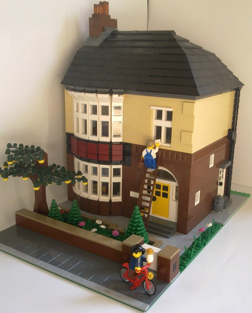 British Semi Detached House 1940 S This Is A Moc Based