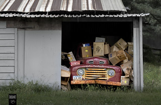 Old Truck and Boxes | by crabsandbeer (Kevin Moore)