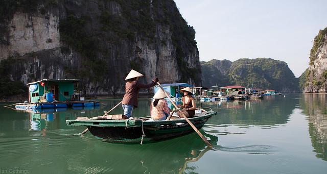 Vung Vieng village - Halong