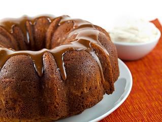 Caramel Pound Cake Caramel Glaze