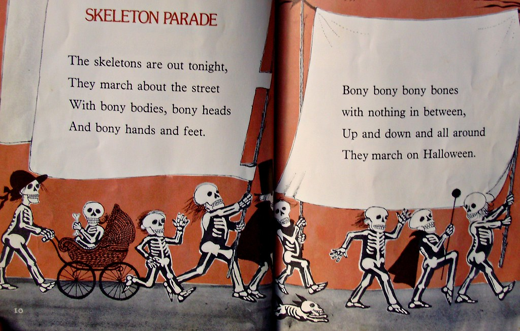 by joey myers skeleton parade from its halloween by joey myers