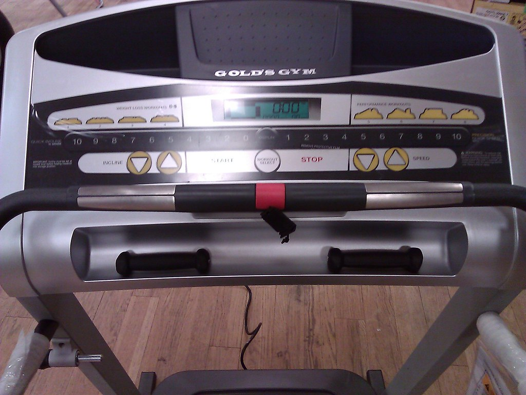 ... Gold's Gym 480 Treadmill   by Lowcountry Fitness